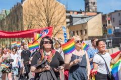 Norrkoping Pride Parade 2016 Fotos de archivo libres de regalías