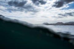 Norrkust av fuerteventura arkivbilder