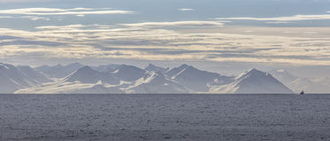 Norrkusten av Island Royaltyfri Fotografi