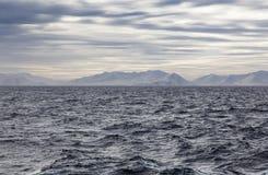 Norrkusten av Island Royaltyfria Bilder