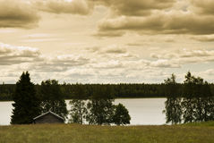 Norrland In Sweden Stock Images