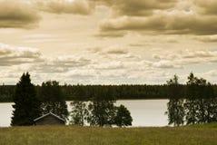 Norrland in Svezia immagini stock