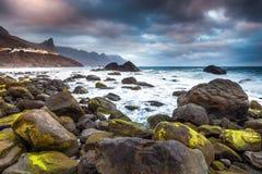 Norrsida av den Tenerife ön Royaltyfria Foton