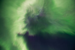 Norrsken eller nordliga ljus, Island Arkivfoton