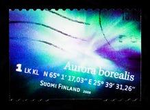 Norrsken för nordliga ljus, serie, circa 2009 Arkivbild
