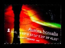 Norrsken för nordliga ljus, serie, circa 2009 Fotografering för Bildbyråer