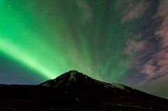 Norrthern Lights Royalty Free Stock Photography
