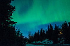 Norrthern Lights Royalty Free Stock Image