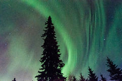 Norrthern Lights Stock Photo