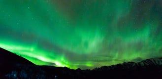 Norrthern ljus Arkivbilder