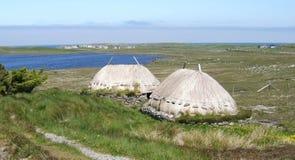 Norse van Shawbost Molen, Eiland van Lewis, Schotland Royalty-vrije Stock Afbeelding