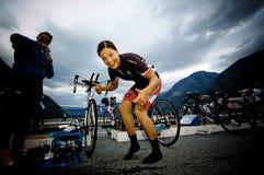 Norseman Xtreme Triathlon royalty-vrije stock foto's