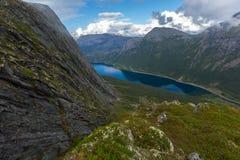 Norsk fjord Royaltyfri Foto