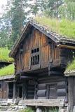 Norsk Folkemuseum, penisola di Bygdoy, Oslo, Norvegia Immagini Stock Libere da Diritti