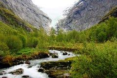 Norsk glaciär Royaltyfria Foton