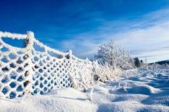 norsk vinter Royaltyfri Foto