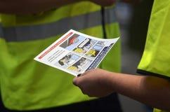 Norska drevchaufförer på slag Arkivbild