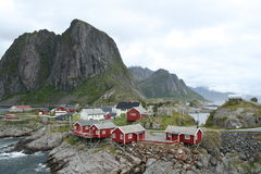 norska fjords royaltyfria bilder