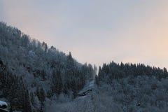 Norskt berg 008 Royaltyfri Bild