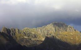 Norskt berg Ridge Royaltyfri Fotografi
