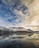 norskt landskap Royaltyfria Bilder