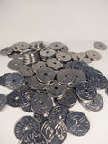 Norskt mynt, krone Arkivbilder