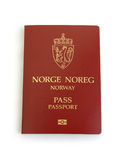 norskt pass Royaltyfri Bild