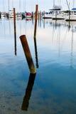 Norsminde harbor - Danish evening quiet (2) Stock Image
