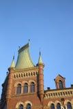 Norstedt som bygger 1882; Riddarholmen; Ö; Stockholm Royaltyfria Foton