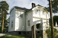 Norstrand Villa. An old house in Oslo, Norway, in the Norstrand area Stock Photos