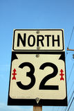 Norte Imagem de Stock