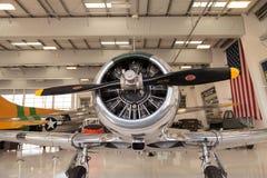 AT-6 norte-americano SNJ-6 Imagens de Stock