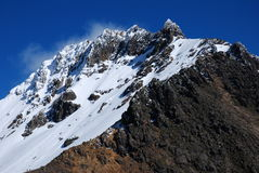 norte d'illiniza de 2008 5126m Equateur Image stock
