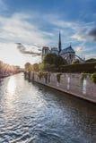 Norte Dame Cathedral de Paris Stock Afbeeldingen