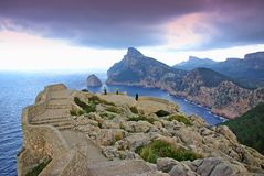 Norte de Majorca Fotografia de Stock Royalty Free