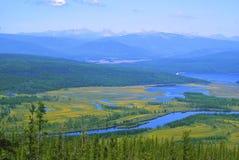 Norte del valle del río Fotografía de archivo libre de regalías