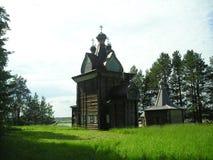Norte ruso Iglesias de madera foto de archivo libre de regalías
