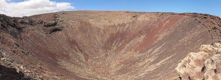 Nortern Fuerteventura, Calderon Hondo Stock Photos