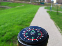 North. Compass, next step to... better world Stock Images