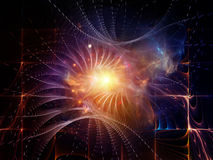 North of Abstract Visualization Stock Photos