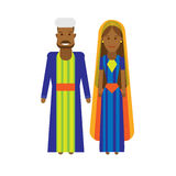 North africa national dress Stock Photography