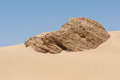 North African sand dunes Royalty Free Stock Photo