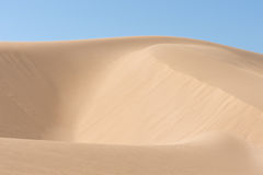 North African sand dunes Stock Photos