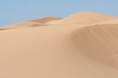 North African sand dunes Royalty Free Stock Photography