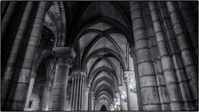 North Aisle, Notre Dame de Paris Stock Images
