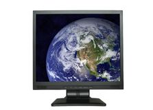 North America in LCD screen Stock Images