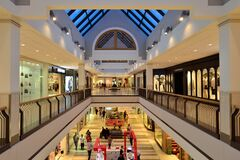 North America Shopping Mall Stock Images
