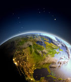 North America from space Stock Photography
