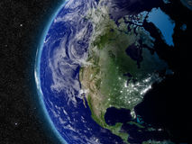 North America from space Stock Image