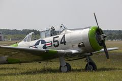 The North American Aviation T-6 Texan Royalty Free Stock Image